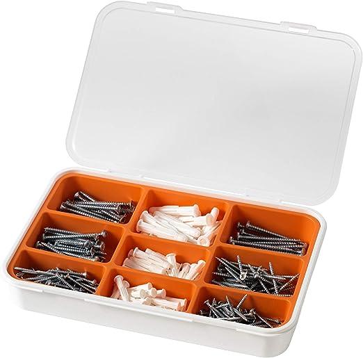 Amazon.com: IKEA Fixa - Juego de tornillos y enchufes (260 ...