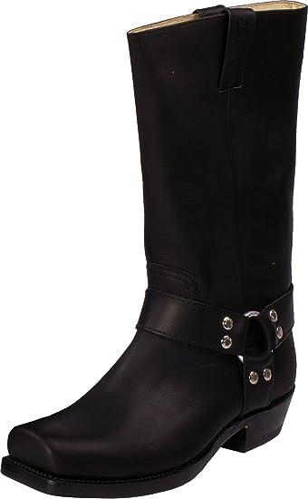 34b795b5b1 Sancho Boots Herren Damen Stiefel Negro Schwarz Größe 36: Amazon.de ...