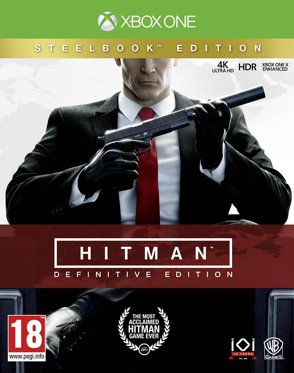 Hitman Definitive Steelcase Edition - Xbox One [Importación ...