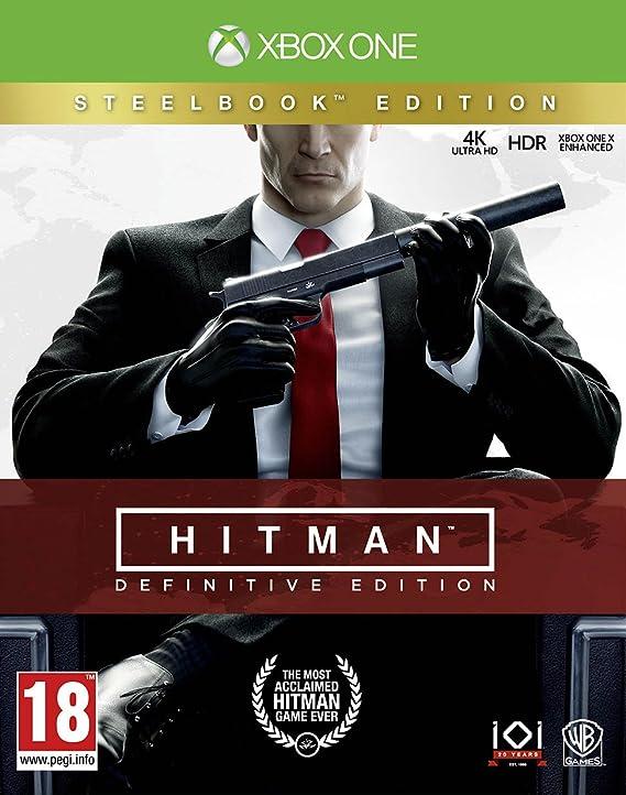 Hitman Definitive Steelcase Edition - Xbox One [Importación inglesa]: Amazon.es: Videojuegos