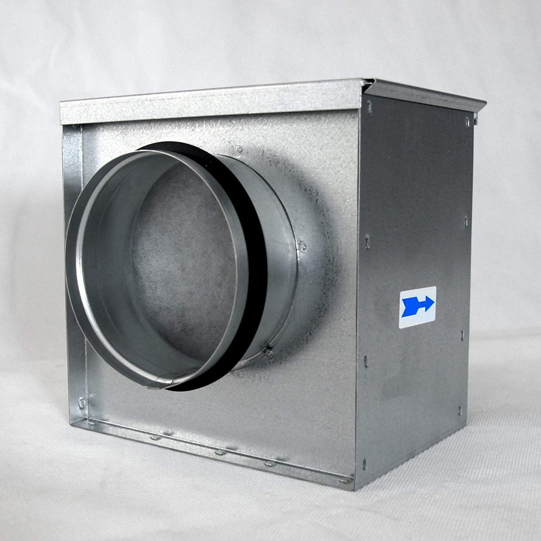 neverest FB/G4 150 mm Caja de filtro de aire G4 en línea: Amazon ...