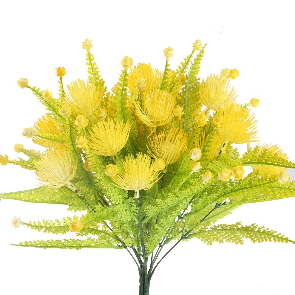Amazon Huaesin Fake Yellow Flowers For Outside Artificial