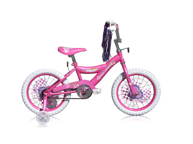 Micargi Kid's Cruiser Bike, Pink, 16-Inch by Micargi B00A7T502M