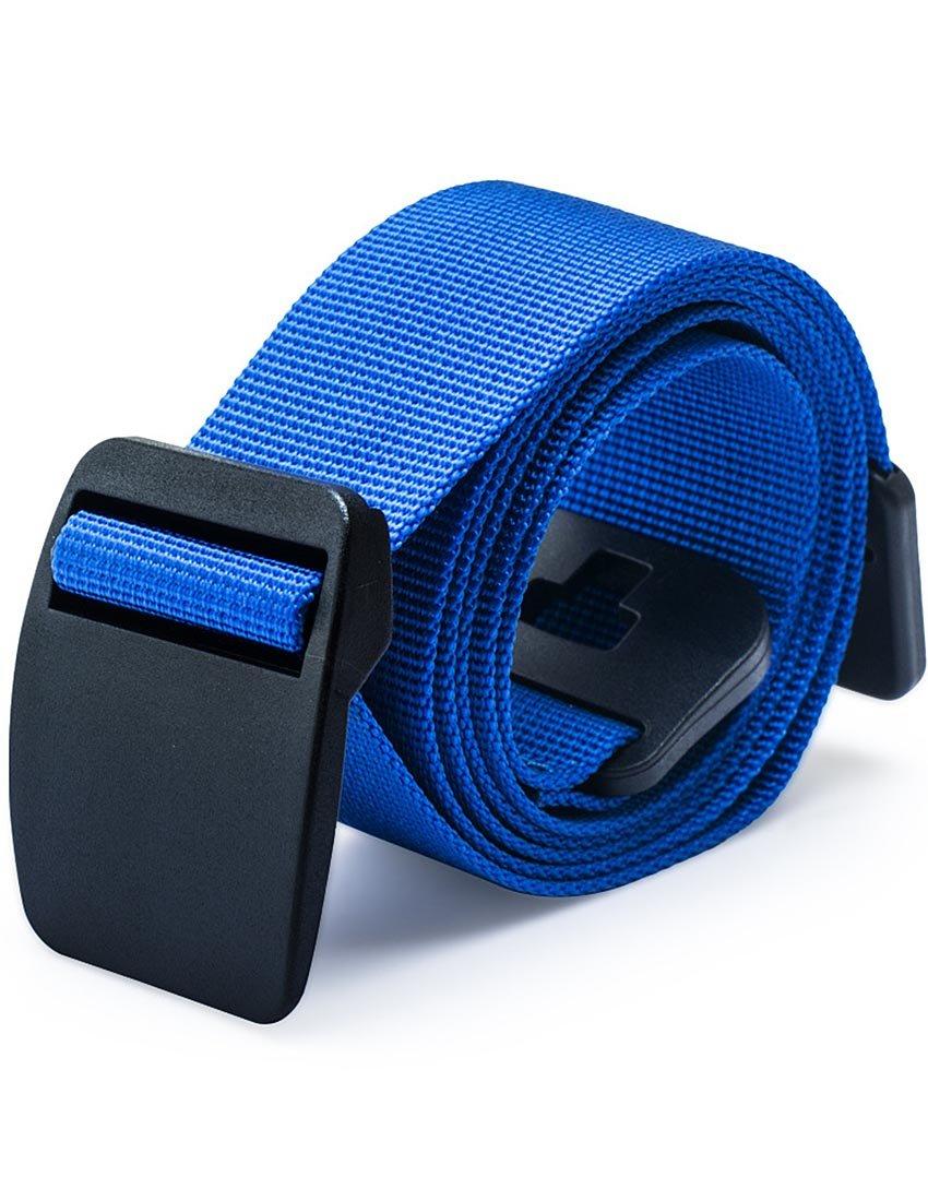 MFrannie Big Boys No-Metal 3cm Unisex Lightweight Thin Nylon Waist Belt Blue 125