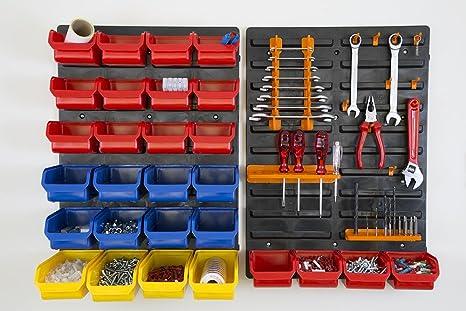 Viso DP01 - Kit Panel con 24 bandejas/Herramientas de ...