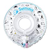 Swimava 【日本正規品60日保証】うきわ首リング(モノトーンペンギン) SW120PG