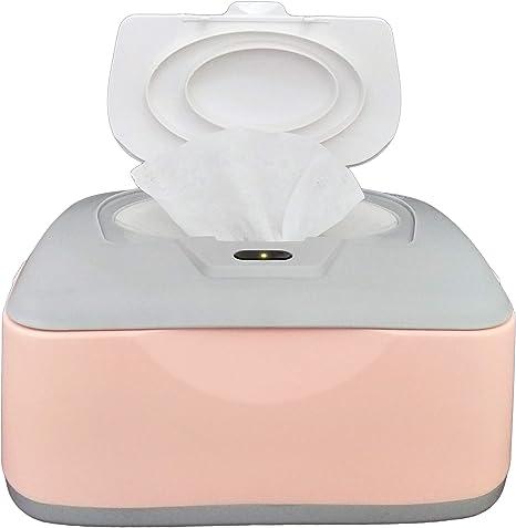 Calentador de toallitas húmedas para bebés, dispensador, soporte y estuche, con interruptor de encendido/apagado fácil de presionar, solo disponible en Amazon: Amazon.es: Bebé