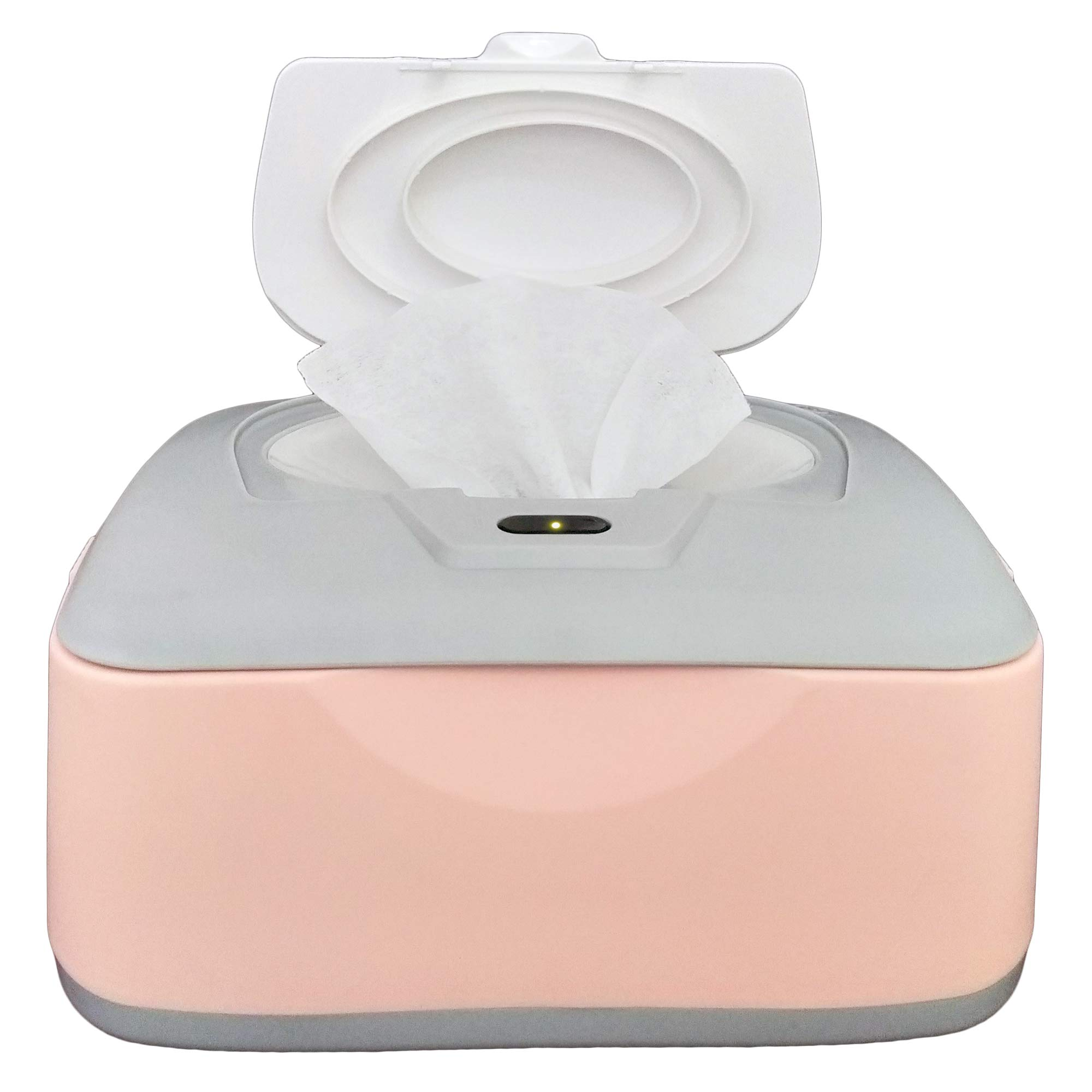 Baby Wet Wipes Warmer, Dispenser, Holder and Case - with Easy Press On/Off Switch, Only Available at Amazon by GoGo Pure.