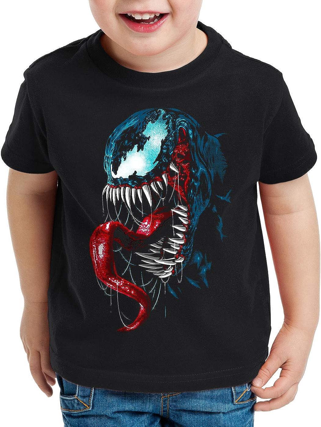 style3 Haze T-Shirt per Bambini e Ragazzi Eddie Brock Comic Cinema