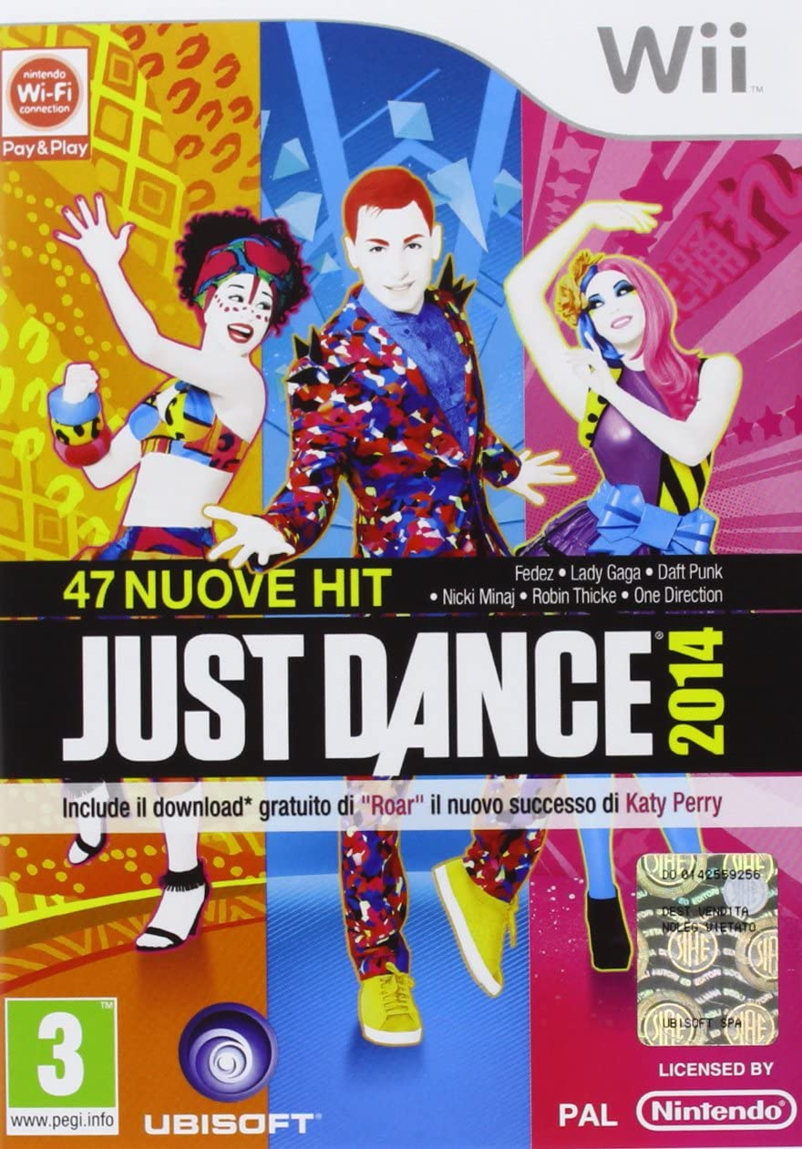Just Dance 2014 [Importación italiana]: Amazon.es: Videojuegos