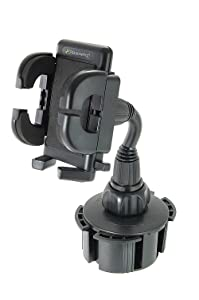 Bracketron Universal Cup-iT Cup holder Mount Phone Cradle For Car Hands Free Law Compatible iPhone X 8 Plus 7 SE 6s 6 5s 5 Samsung Galaxy S9 S8 S7 S6 S5 Note Google Pixel 2 XL LG Nexus Sony UCH-101-BL