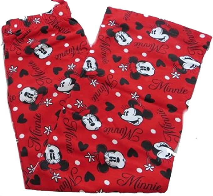 Disney Minnie Mouse Girls Red Lounge Pants Age 7-13 Years Available