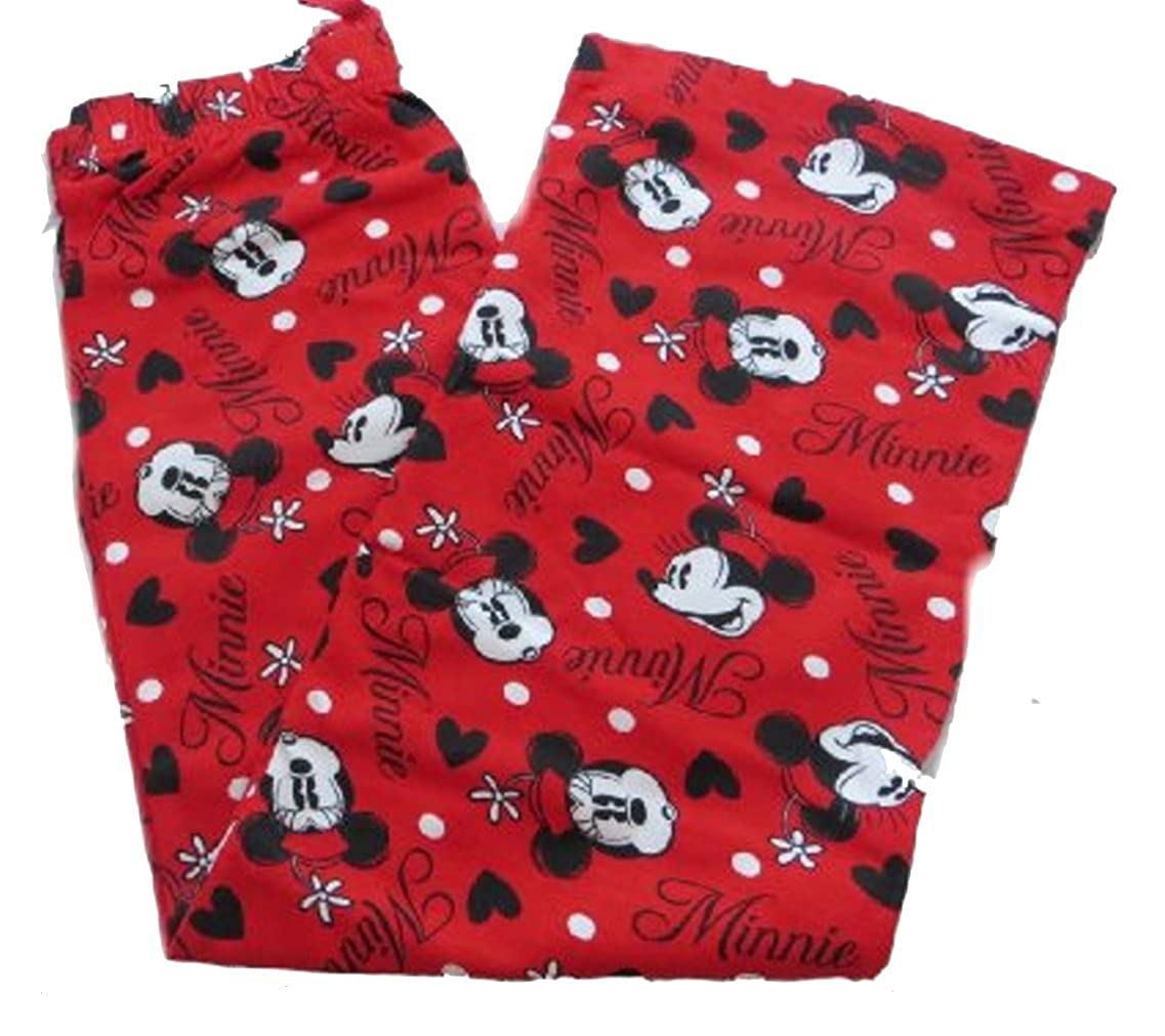Disney Minnie Mouse Girl's Red Lounge Pants Age 7-13 Years Available