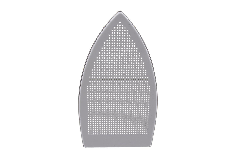 220 Volt Demineralizer Silver Star Bottle Steam Iron ES-300 Gravity Feed Steam Iron with Non-Stick Laminate Sole Plate 220 Volt Iron