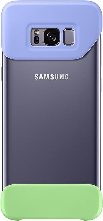 Samsung EF-MG955, Funda para smartphone Samsung Galaxy S8 Plus, Verde, Violeta: Amazon.es: Electrónica