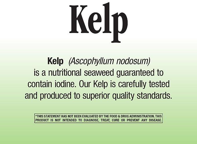 Natures WayWay, Kelp, 600 Mg, 180 Capsules: Amazon.es: Salud y cuidado personal