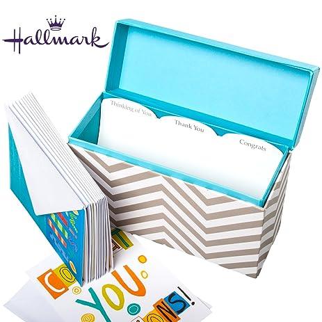 Amazon hallmark greeting card display organizer that includes hallmark greeting card display organizer that includes 12 cards envelopes for very occasion m4hsunfo