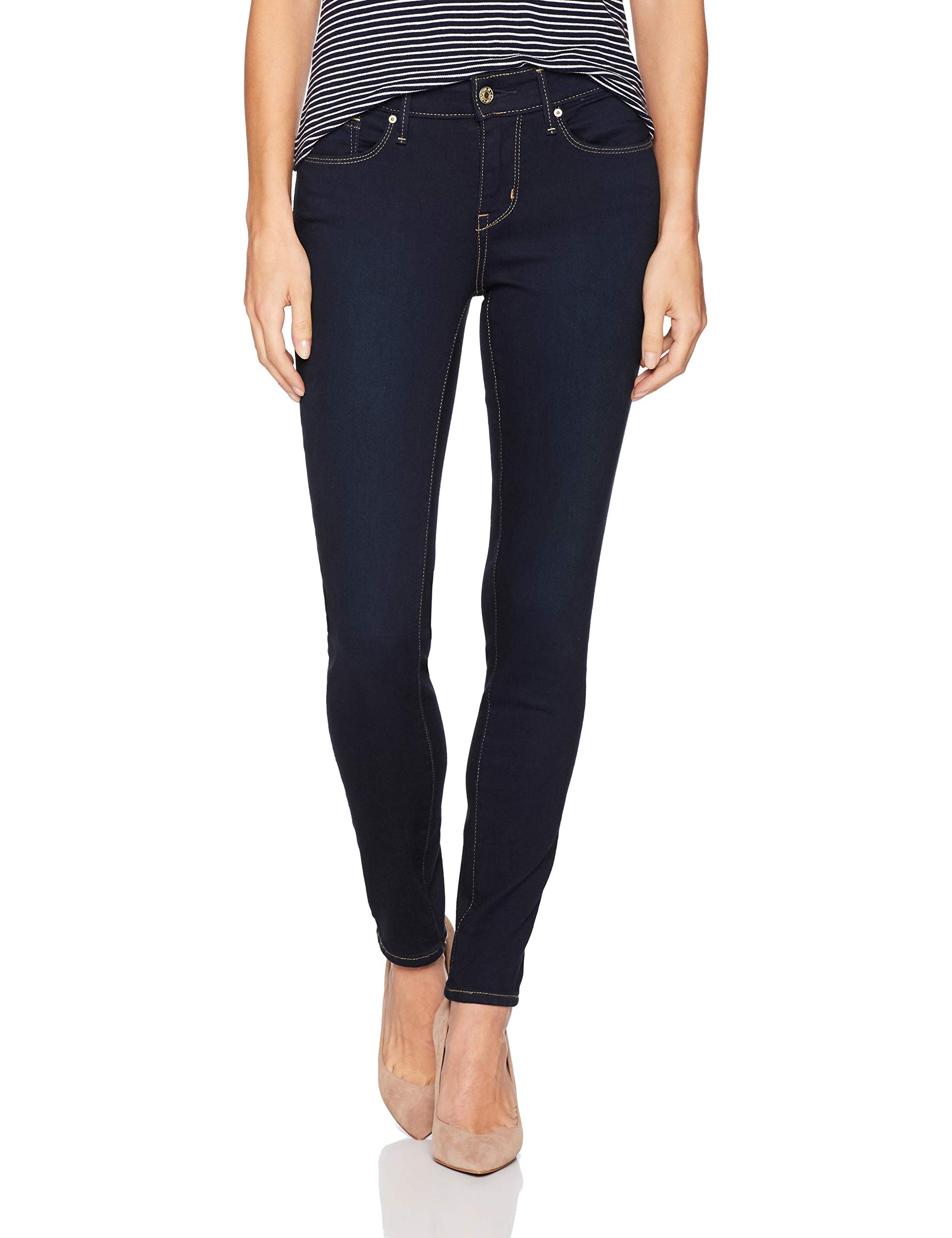 Signature by Levi Strauss & Co. Gold Label Women's Modern Skinny Jeans, Mascara, 12 Medium by Signature by Levi Strauss & Co. Gold Label