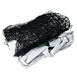 SPLHMILY Volleyball Net, Professional Durable Rectangle Nylon Adjustable Training Net with Steel Cable in Top for Garden, beach, schoolyard and swimming pool