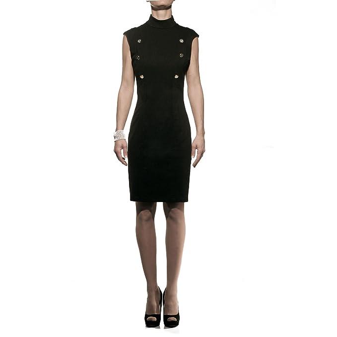 wholesale dealer ce86c f5c7b Roberta Biagi Abito nero donna: Amazon.it: Abbigliamento