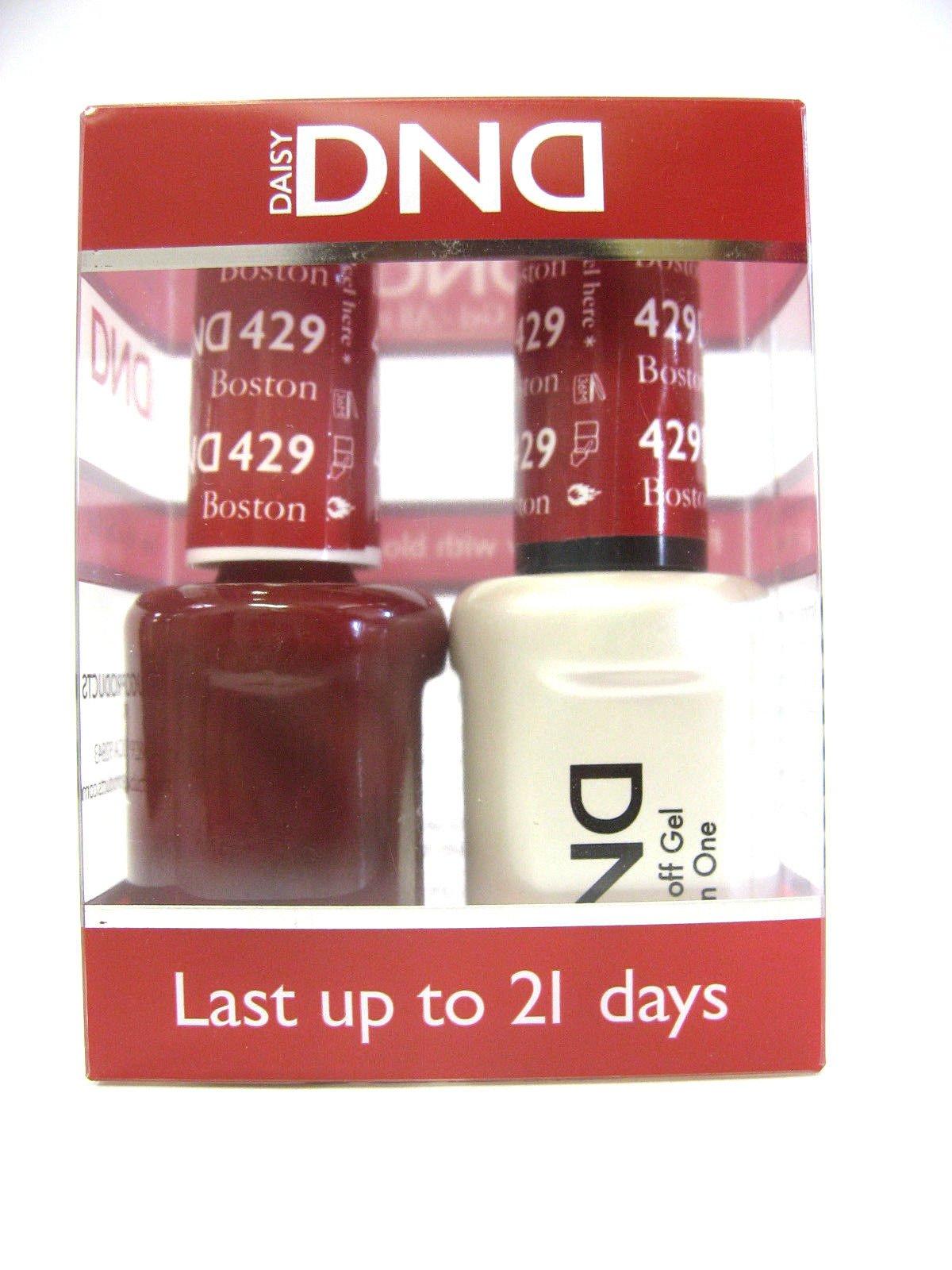 Amazon.com: DND *Duo Gel* (Gel & Matching Polish) Fall Set 456 ...