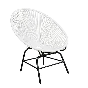 Acapulco Sessel original retro acapulco chair weiß mexico stuhl aus metall