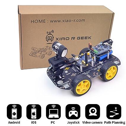 Amazon Com Xiaor Geek Ds Wifi Smart Robot Car Kit For Arduino Uno