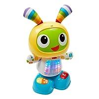 Fisher-Price Bebo Le Robot Interactif Jouet d'Éveil 3 Modes de Jeu, Musique Danse, Apprentissage, Enregistrement Bébé de 9 Mois Plus, CGV44