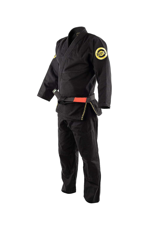 Role Bonito Kimono de Jiu-Jitsu Negro para Hombre BJJ Gi