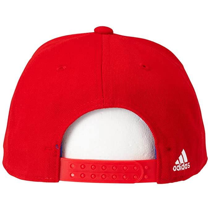 20e55acace2 adidas FC Bayern Anthem M60169 Men s Cap True Red Collegiate Royal White One  Size  Amazon.co.uk  Sports   Outdoors