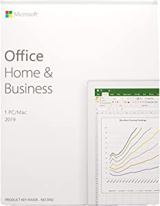 Office Home and Business 2019 Product key, Boxed, for 1PC or Mac