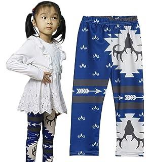 chinatera Little Girls 2Pcs Sweet H Letters T-Shirt Blue Long Pants Leggings Sports Outfit Set
