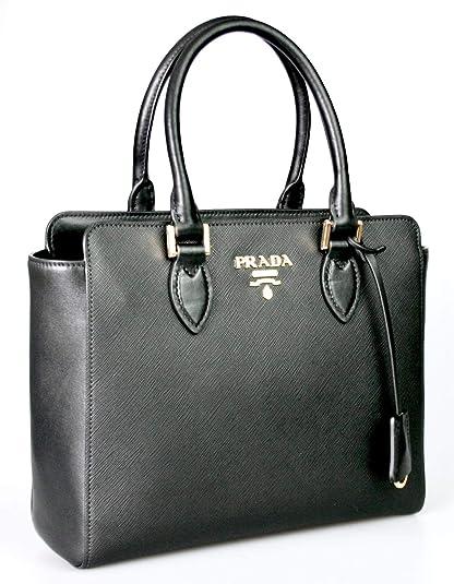 Prada Women s 1BA113 Saffiano Leather Shoulder Bag  Amazon.co.uk ... fced87b4c1
