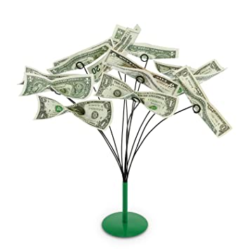 How To Make A Money Tree Gift Basket