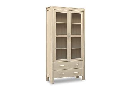 Furnhouse - Vetrina per soggiorno Paris, finitura in legno ...
