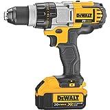 DEWALT 20V MAX XR Brushless Drill/Driver 3-Speed, Premium 4.0Ah Kit (DCD980M2) (Color: Black, Tamaño: Medium)