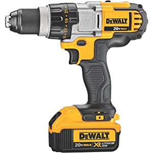DEWALT 20V MAX XR Brushless Drill/Driver 3-Speed, Premium 4.0Ah Kit (DCD980M2)