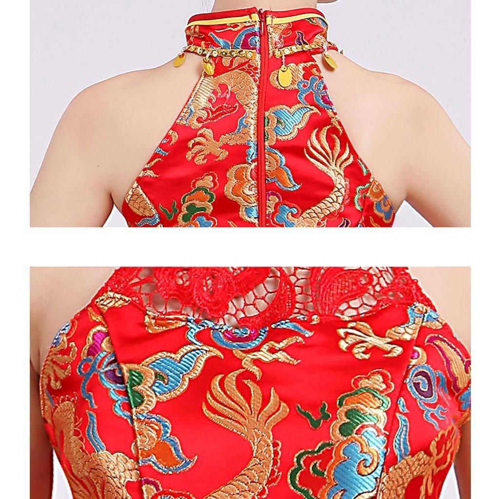 Byjia Wasser Trommel-Tanz-Kostüm-Kleid Weiblich Moderne Aufführung Aufführung Aufführung Klassik Erwachsener Frauen Chorus Bühne B071J8DJKS Bekleidung Extreme Geschwindigkeitslogistik 9749c1