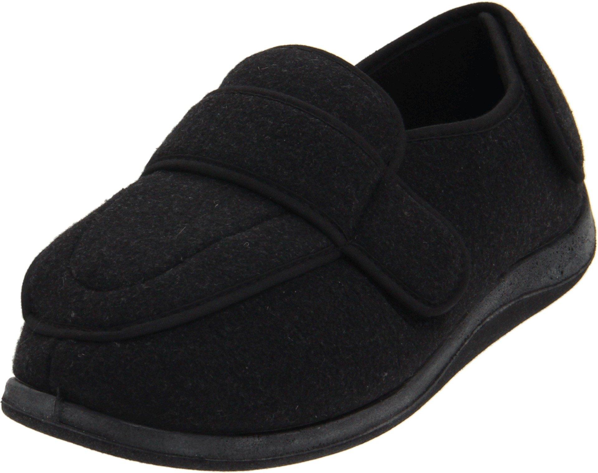 FoamtreadsWomen's Physician Slipper,Charcoal Wool,8.5 M US