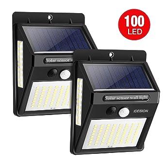 Solmore 55 Led Solarlampe Mit Bewegungsmelder Solar Wa Solarleuchte Für Außen