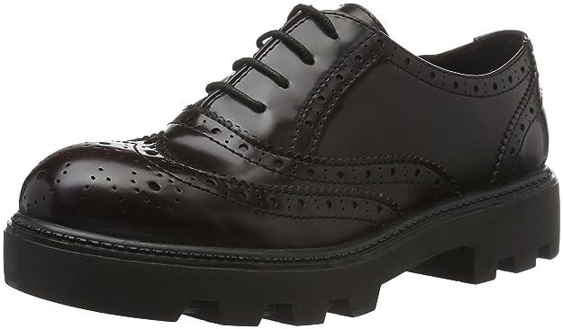 23619, Zapatos de Vestir para Mujer, Rojo (Bordeaux 549), 40 EU s.Oliver