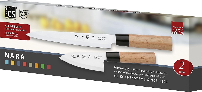 Compra CS - Kochsysteme - Juego de Cuchillos, Sushi Cuchillo ...