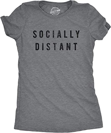 T-Shirt Relaxed Fit Social Distancing Gift COVID19 Funny Women Surviving Social Distancing One Sip At A Time Women/'s Relaxed T-Shirt