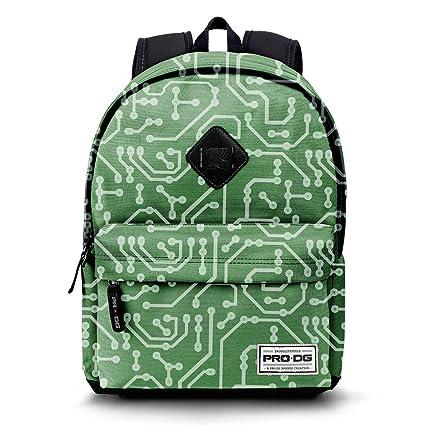 KARACTERMANIA PRODG Geek-Sac à dos Freestyle Sac à dos loisir, 42 cm, 21 litres, Vert