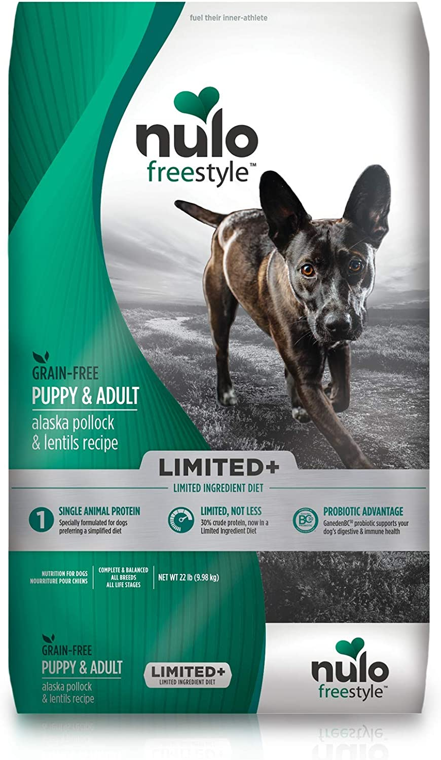 Nulo Limited Ingredient Dry Dog Food - Single Protein Grain Free Recipe Premium Kibble