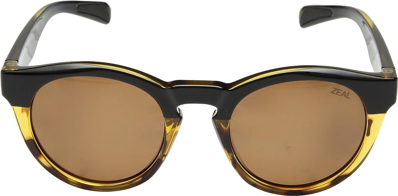 30e764bf04 Amazon.com  Zeal Optics Unisex Crowley Black Tortoise Polarized Copper Lens  One Size  Clothing