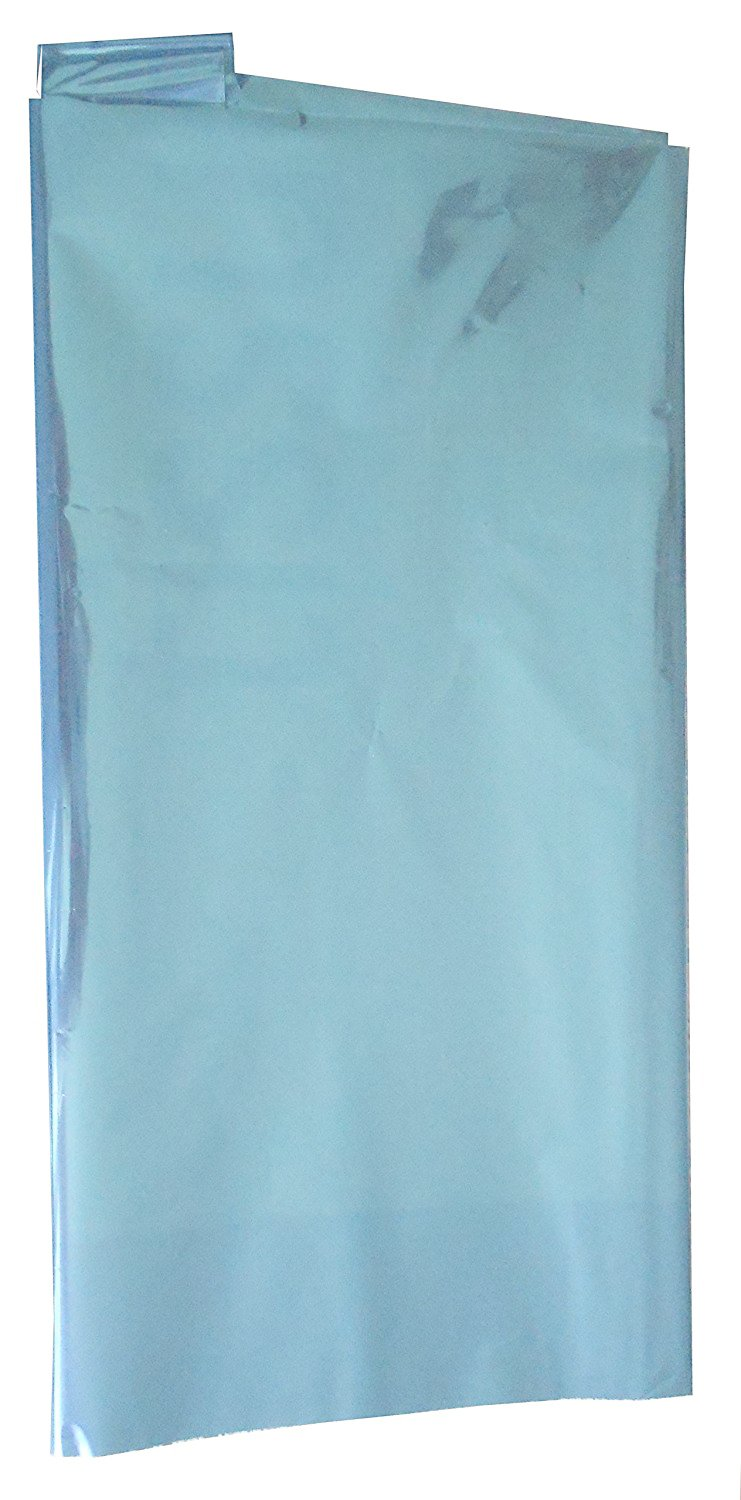 Colored Mylar Metallic Sheets 18 x 30 - 5 Sheets Each Pack (Silver ...