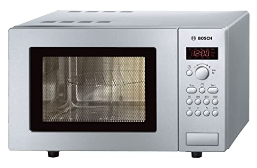 Bosch Microondas grill 17l hmt75g451 inoxidable: Amazon.es ...