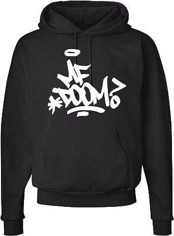 Mf Doom Men/'s Black Hoodie