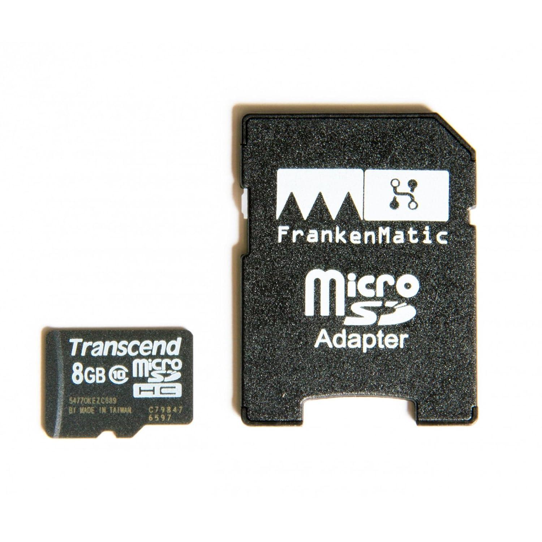 FrankenMatic F896-8860 - Set Básico 3 Piezas (Squeezelite, Reproductor de Música WLAN, Carcasa, Fuente de Alimentación, 8 GB microSDHC): Amazon.es: ...